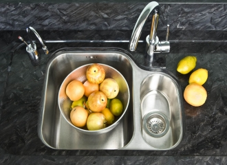 Undermount Sink Cut Out & Recessed Drainer